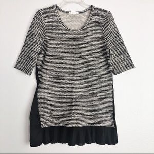 Anthropologie Clu+Willoughby Inkstick Tunic Blouse